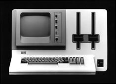 IBM 5120 from 1980. With two 8 inch 1.2MB disks, monochrome monitor and 32K of RAM, this was IBM's lowest priced system starting at $9,000 ($25,000 in 2014 dollars).