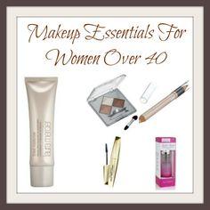 Five Makeup Essentials For Women Over 40