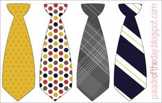 Parade of the Day: Little Man Tie Printable