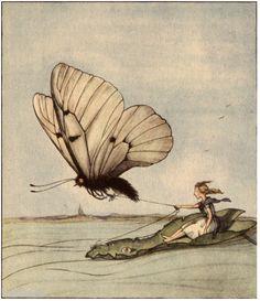 Däumelinchen - Thumbelin by H.C. Andersen (1805-75) illustrated by Else Wenz-Viëtor