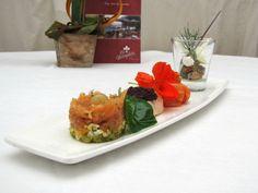 El plato con tres montaditos dio el toque agridulce, pero exquisito, a un encuentro que todavía se recuerda.