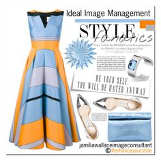 """""""Ideal Image"""" by jamilia-wallace on Polyvore featuring Roksanda, Jimmy Choo and Marie Turnor"""