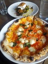 This Delicious Pizza Cooks In 90 Seconds At Bufad On Spring Garden Street!  See How