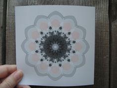 Geometric  Flower 11k abstract generative art open by ArtAtomic