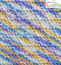 Knitted Lattice Facecloth/Dishcloth – any colour