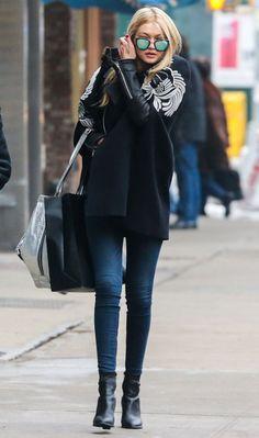 Denim Street Style Fashion