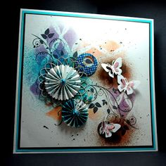Eileen's Crafty Zone: Dylusions Sprays and Designs by Ryn Stamps