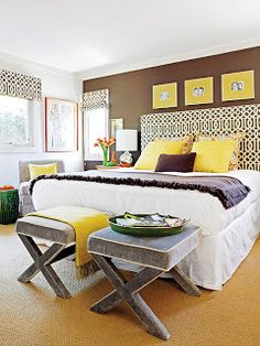 Brown + Yellow | Rooms Reborn
