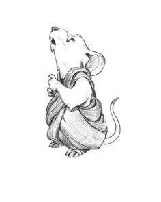 Mousy monk...#forfun #concept #design #illustration #digitalart #art #games #sketch #kidlitart