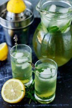 Egyiptomi mentalimonádé recept Cocktail Drinks, Cocktails, Cafe Shop, Kitchen Aprons, Limoncello, Recipes From Heaven, Sangria, Pickles, Cucumber