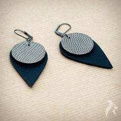 Simplicity Leather Earrings £13.00