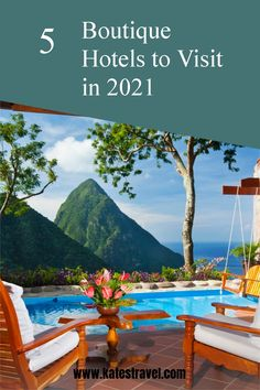 Attention to detail, sophisticated atmosphere, and exclusivity are just a few reasons these boutique hotels get repeat clients year after year. Check out our list of top boutique hotels for 2021 here! Caribbean Vacations, Beach Vacations, Vacation Resorts, Beach Trip, Romantic Destinations, Travel Destinations, Hermitage Bay, Ladera Resort, Overwater Bungalows