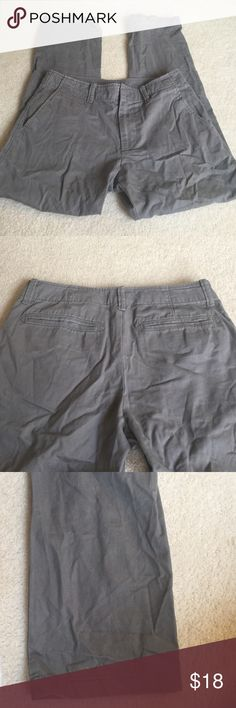 Men's gray Old Navy pants 100% cotton JD Old Navy Pants