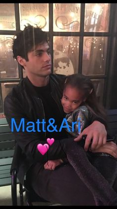 Ariana Williams: Enjoy the little things, one of Ariana's favourite things to do is hang with Matt bts