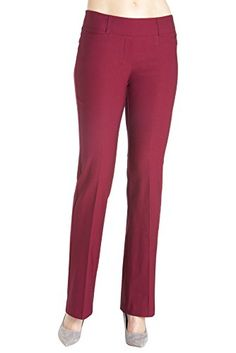 "Rekucci Women's ""Ease In To Comfort Fit"" Barely Bootcut Stretch Pants * CONTINUE @ http://www.ilikeboutique.com/boutique/rekucci-womens-ease-in-to-comfort-fit-barely-bootcut-stretch-pants/?a=0838"
