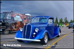 Star of the Day-this '37 Ford pickup-trucks are cool...here's why.