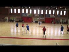 Partido de futbol sala cadete entre Ciudad de Mostoles A y Oroquieta Esp...