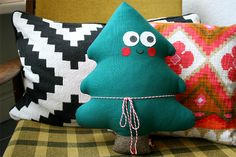 Weihnachtsbäumchen von Tante Tin auf DaWanda.com
