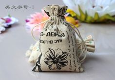 Find More Packaging Bags Information about 15*20cm 20pcs Cotton Linen Drawstring gift bags for jewelry/wedding/christmas/birthday  with handles Packaging Linen pouch Bags,High Quality gift bag decorating,China bag bead Suppliers, Cheap gift bag tags from Playful beauty department store on Aliexpress.com