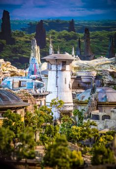 BREAKING: Star Wars Land Model Photos & Video from the 2017 D23 Expo. WOW!