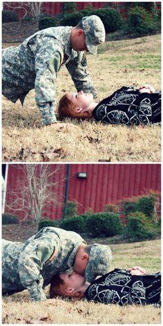 Army couple photo shoot