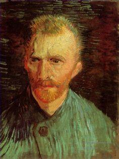 4 Self Portrait 1887 2 Vincent van Gogh