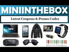 Latest MiniInTheBox coupons, promo codes & discount offers. Visit MiniInTheBox now to save money: http://CoupSearch.com/store/miniinthebox