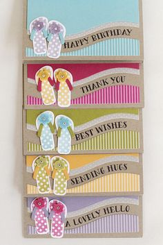 Flip Flop Ensemble by Erin Lincoln for Papertrey Ink (May 2015)