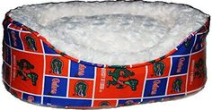 Pampered Pets Florida Gators Collection Oval Bed Large ** Continue to the product at the image link.