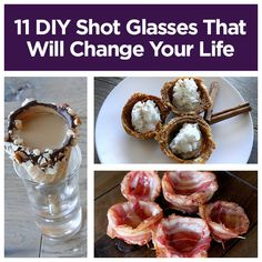11 DIY Shot Glasses That Will Change Your Life, I'm doing the peppermint bark one for Xmas eve @shannonb2003