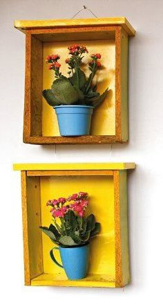 Gavetas antigas in 2020 Home Crafts, Diy Home Decor, Diy And Crafts, Furniture Makeover, Diy Furniture, Wood Projects, Projects To Try, Mexican Kitchen Decor, Diy Drawers