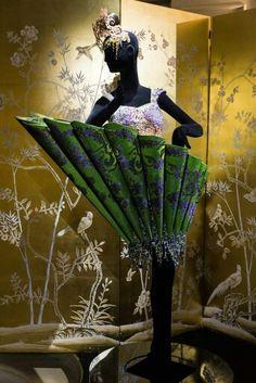 July 2015 - Guo Pei & MAC Cosmetics showcase at Haute Couture Week in Paris