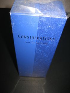 Amway Considerations Eau de Parfum 2.5 fl oz RARE and by CLASSYBAG