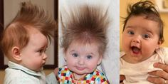 Baby had a Bad Hair Day!