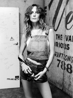 5 Reasons You'll Be Obsessed With the Erin Wasson x PacSun Collab via @WhoWhatWear Because Denim is King