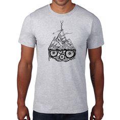 Grey Marle Graphic T shirt . Mens T shirt . Trending Outfits, Grey, Cotton, Mens Tops, T Shirt, Etsy Shop, Shopping, Fashion, Gray