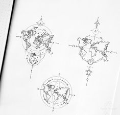 tattoo tattoo tattoo tattoo tattoo tattoo tattoo ideas designs ideas ideas in memory of ideas unique.diy tattoo permanent old school sketches tattoos tattoo Map Tattoos, Skull Tattoos, Sleeve Tattoos, Tattoo Quotes, Tatoos, Globus Tattoos, Karten Tattoos, Muster Tattoos, Dragonfly Tattoo