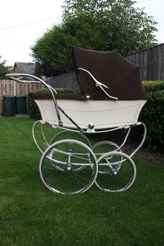Vintage Osnath 1966 Brown and Cream Coachbuilt Baby Pram | eBay