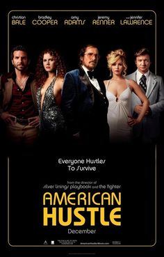 American Hustle Cast Hustle to Survive Movie Poster 11x17