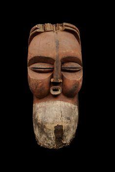 Yaka Kakuungu Mask, DR Congo http://www.imodara.com/item/dr-congo-yaka-kakuungu-initiation-mask/