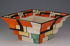 One of the great pottery makers...Clarice Cliff