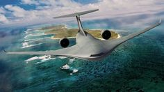 With wind-tunnel tests confirming the expected efficiency benefits of Lockheed Martin& Hybrid Wing Body airlifter, Aviation Week takes a closer look at the latest transport design. Blended Wing Body, Air Force Aircraft, Stealth Aircraft, Cargo Aircraft, Stealth Bomber, Us Air Force, Military Equipment, General Electric, Aviation Art
