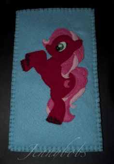 my little pony felt psp cover  www.facebook.com/jennybobsgifts