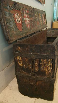Richard de Bury's painted chest English, early 14th century