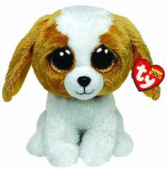 My friend has this beanie boo and my sister used to have but. She lost it the beanie boo was a medium how do u lose a medium size cookie it's bigger than 5 five feet tall Ty Beanie Boos, Beanie Boo Dogs, Ty Boos, Beanie Babies, Ty Animals, Plush Animals, Big Eyed Stuffed Animals, Ty Peluche, Ty Babies