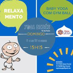 baby yoga com gym ball + relaxamento