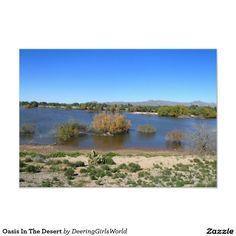 Oasis In The Desert Card