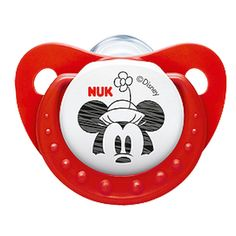 NUK Disney Mickey Minnie Pacifier Soother 6-18 Months Silicone (9194-1)
