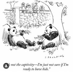Drawing - It's Not The Captivity - I'm Just Not Sure If I'm by Trevor Spaulding , New Yorker Covers, The New Yorker, Creative Icon, A Cartoon, Icon Design, Snoopy, Drawings, Kids, Movie Posters