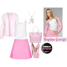 this is Regina George the head captin of the plastic of Mean girls. I bet u watched it. Regina George's wardrobe don't act like her personality love ya guys❤️ Mean Girls Halloween Costumes, Mean Girls Costume, Mean Girls Outfits, Girl Costumes, Costume Ideas, Fandom Fashion, Fashion Tv, Girl Fashion, Fashion Outfits